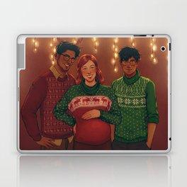 Christmas Portrait Laptop & iPad Skin