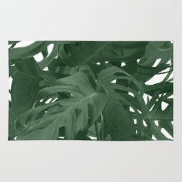 Monstera Jungle Paint Rug