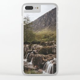 Famous Etive Mor - Landscape and Nature Photography Clear iPhone Case
