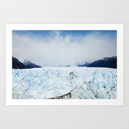 Ice Ice Baby - Patagonia, Argentina Art Print