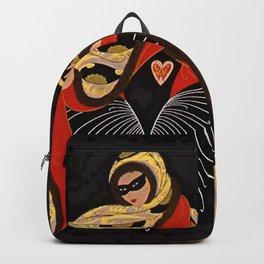 "Art Deco Illustration ""Masquerade"" Backpack"