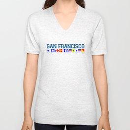 San Francisco. Unisex V-Neck