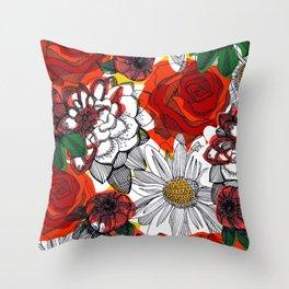 Unfold Throw Pillow