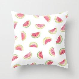 Watermelon slices Throw Pillow