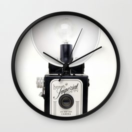 Vintage Herco Imperial 620 Snap Camera Wall Clock