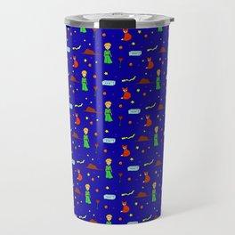 """The Little Prince"" Pattern Travel Mug"