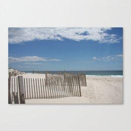 Long Island Beach Canvas Print