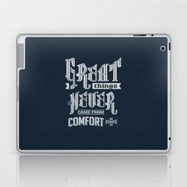 Comfort Zones - Motivation Laptop & iPad Skin