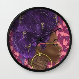 Qween Wall Clock