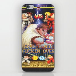 GAME'S NOT FUCKIN OVER! pt. 1 iPhone Skin