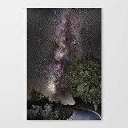 Towards the Milky way...... Canvas Print