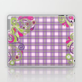 Paisley Plaid Laptop & iPad Skin