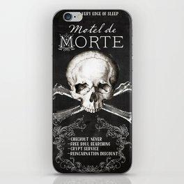 Motel de Morte iPhone Skin