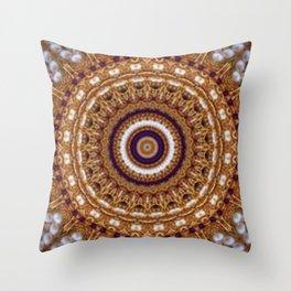 Mandala Pearls Art Throw Pillow