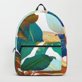 color leaves Backpack
