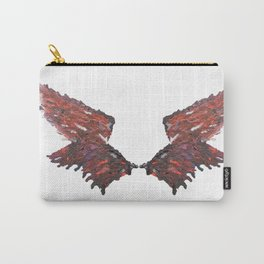 Cas's Wings Carry-All Pouch