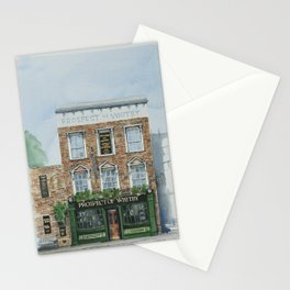 The Prospect of Whitby, Wapping, London. Stationery Cards