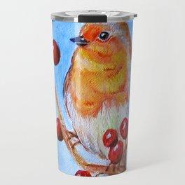 Robin Redbreast Travel Mug
