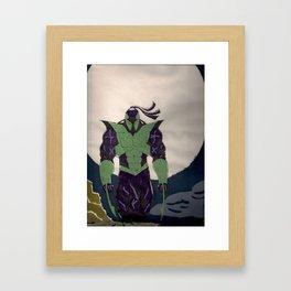 ninja force Framed Art Print
