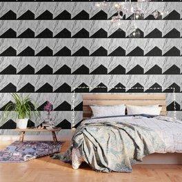 Ebony marble geo Wallpaper