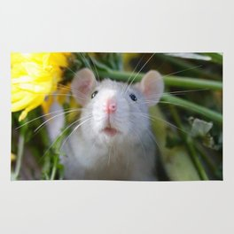 Floral Rat Rug