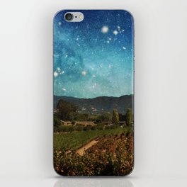 Starlit Vineyard II iPhone Skin