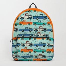Bright Vintage Trucks Backpack