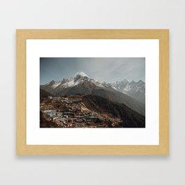 Namche Framed Art Print