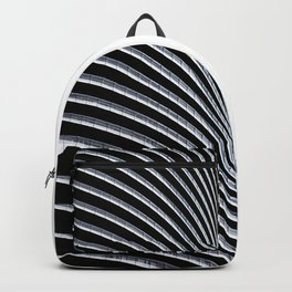 Abstract Architecture Curves Backpack
