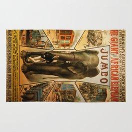 Vintage poster - Jumbo Rug