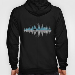 The Sounds Of Nature - Music Sound Wave Hoody