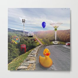 Roadside Attractions Metal Print