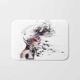 Her name I ask. Freedom, she replies.  Bath Mat