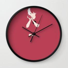 Todoroki Shouto - My Hero Academia Wall Clock