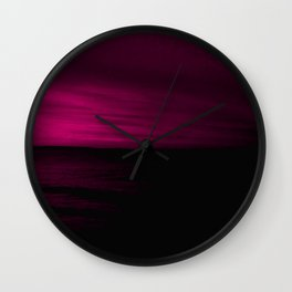 iDeal - Black Rasberry Wall Clock