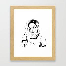 Skin and Bone Framed Art Print