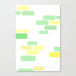 Exposed [pastel] Brick Canvas Print