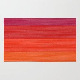 Acrylic Autumn Color Scheme Rug