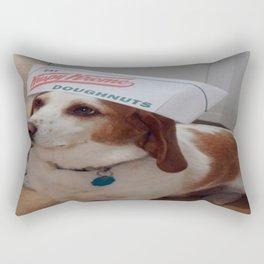 Odie the Doughnut Hound Rectangular Pillow