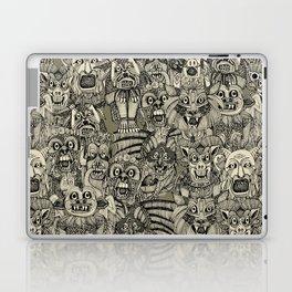 gargoyles vintage black Laptop & iPad Skin