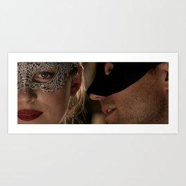 Fifty Shades Darker - Masquerade Art Print