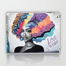 Love is color Laptop & iPad Skin