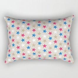 Cascading Stars Rectangular Pillow