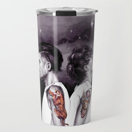 The Tiger and The Stag Travel Mug