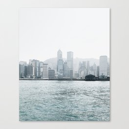 Foggy line Canvas Print