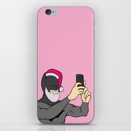 Bat Santa Christmas iPhone Skin