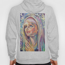 Saint Clare of Assisi, potrait Hoody