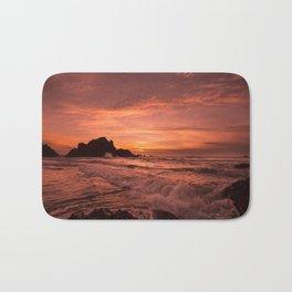 Pacific Sunset. Bath Mat