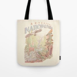 Adventure National Parks Tote Bag