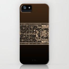 Sala Tumba de Pakal iPhone Case
